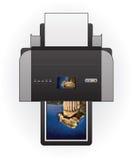 喷墨打印机 免版税库存照片
