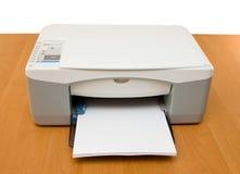喷墨打印机 库存图片