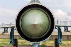 喷气发动机进气道 免版税库存图片