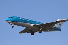 喷气式客机飞机 免版税库存照片