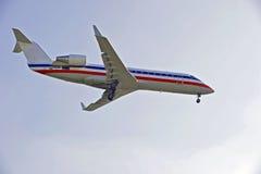 喷气式客机 免版税库存照片