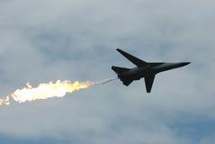 喷气式歼击机军人 库存照片