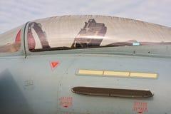 喷气式歼击机机盖 免版税图库摄影