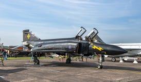 喷气式歼击机麦克当诺道格拉斯公司F-4幽灵 免版税图库摄影