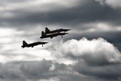 喷气式歼击机 免版税库存照片