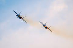 喷气式歼击机 免版税库存图片