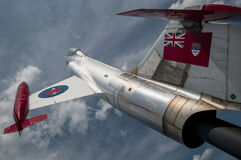 喷气式歼击机(CF-104 Starfighter) 库存图片