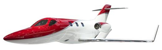 喷气式飞机孤立 库存照片
