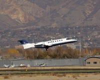 喷气机专用起飞 库存图片