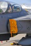 喷气机军人 免版税库存照片