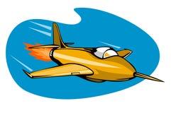 喷气机减速火箭的样式 免版税库存图片