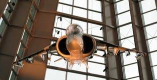 喷气机博物馆usmc 图库摄影