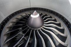 喷气机引擎关闭 免版税库存图片