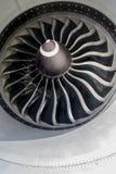 喷气机引擎关闭 免版税图库摄影