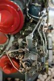 喷气机引擎详细资料 库存照片