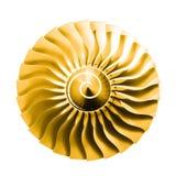 喷气机引擎阳光 免版税库存照片