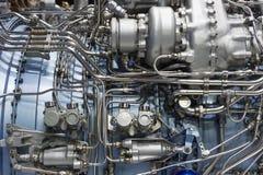 喷气机引擎细节 免版税图库摄影