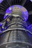 喷气机引擎细节 免版税库存图片