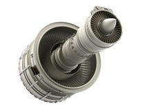 喷气机引擎 库存例证