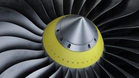 喷气机引擎 免版税库存图片