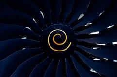 喷气机引擎 免版税图库摄影