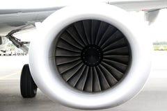 喷气机引擎 图库摄影