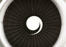 喷气机涡轮 免版税图库摄影