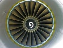 喷气机涡轮 库存照片