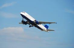 喷气机现代乘客 库存图片
