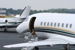 喷气机等待 免版税图库摄影