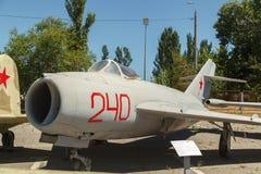 喷气机米格-17飞机 库存照片