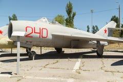 喷气机米格-17飞机 库存图片