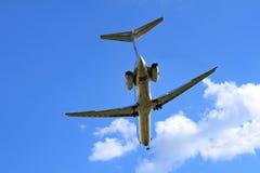 喷气机运输 免版税库存图片
