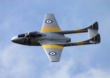 喷气机t11吸血鬼 免版税库存图片