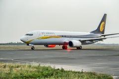 喷气航空公司波音737 库存照片