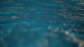 喷水的波浪水色公园 影视素材