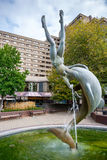 喷泉。 伦敦 库存图片