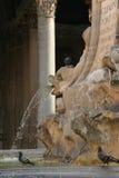 喷泉万神殿 免版税图库摄影