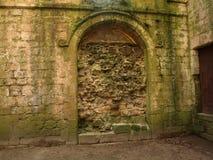 喷泉修道院Ripon约克夏英国 库存照片