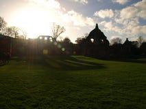 喷泉修道院Ripon约克夏英国 免版税库存图片