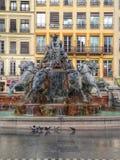 喷泉利昂 免版税库存图片