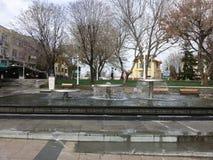 喷泉在伊斯坦布尔 库存图片
