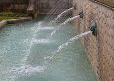 喷泉在伦敦 图库摄影