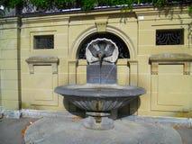 喷泉在伯尔尼 免版税库存图片
