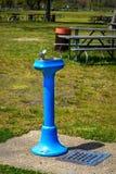 喷泉在公园 图库摄影