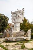 喷泉在卢卡 免版税库存照片