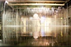 喷泉在吉尼斯仓库博物馆 免版税库存图片