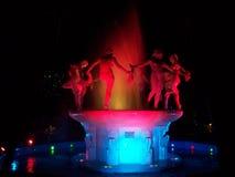 喷泉在哈瓦那古巴 免版税图库摄影