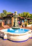 喷泉在圣地亚哥 免版税库存照片