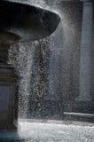 喷泉在圣彼得罗广场,梵蒂冈 库存照片
